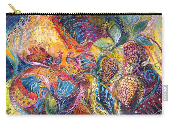 The Flowers And Fruits Carry-all Pouch