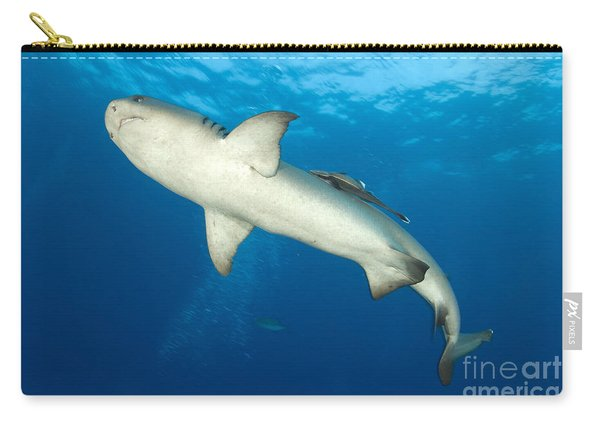 Whitetip Reef Shark, Kimbe Bay, Papua Carry-all Pouch