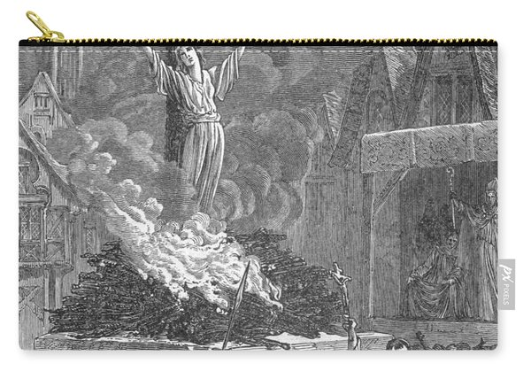 Joan Of Arc, French National Heroine Carry-all Pouch