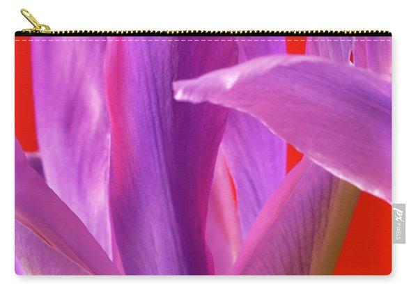 Photograph Of A Dutch Iris Carry-all Pouch