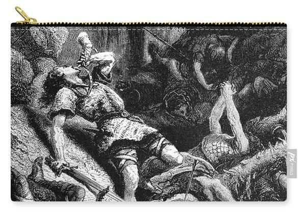 Song Of Roland, 778 A.d Carry-all Pouch