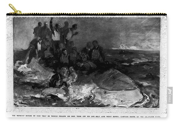 Titanic: Sinking, 1912 Carry-all Pouch