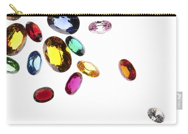 Colorful Gems Carry-all Pouch