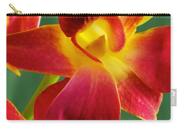 Dendribium Malone Or Hope Orchid Flower Carry-all Pouch
