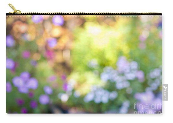 Flower Garden In Sunshine Carry-all Pouch