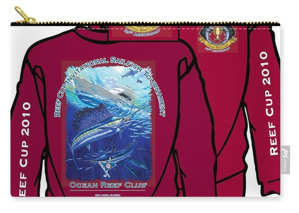 Custom T Shirts Carry-all Pouch