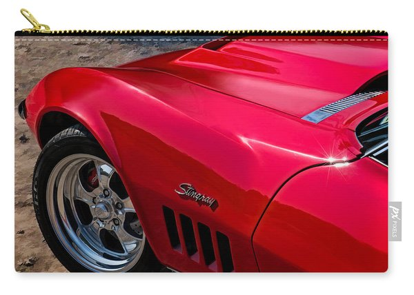69 Red Detail Carry-all Pouch