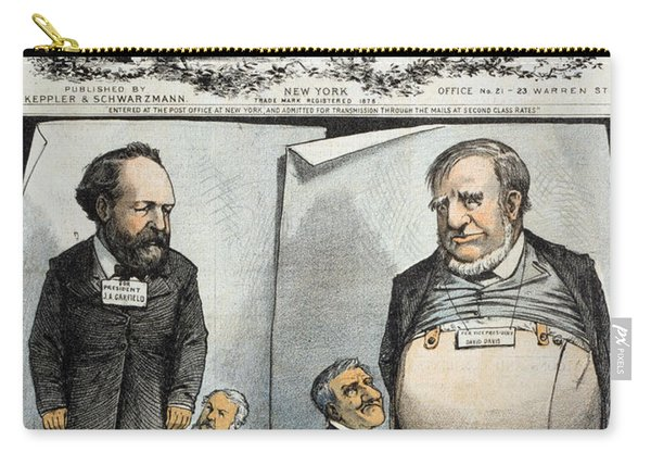 Presidential Campaign, 1880 Carry-all Pouch