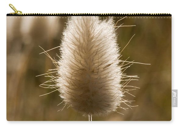 A Beautiful Seed Pod With Beautiful Sun Reflection Carry-all Pouch
