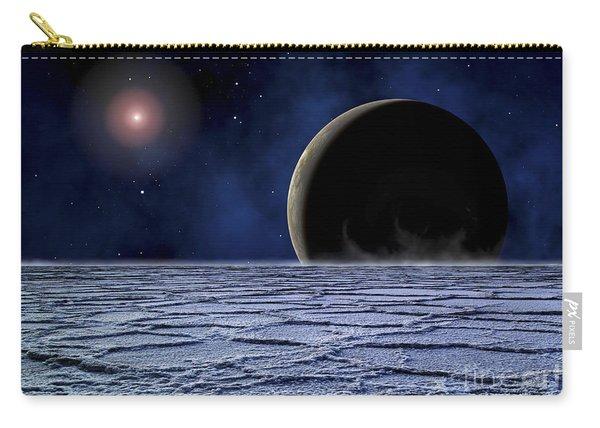 A Distant Star Illuminates An Carry-all Pouch