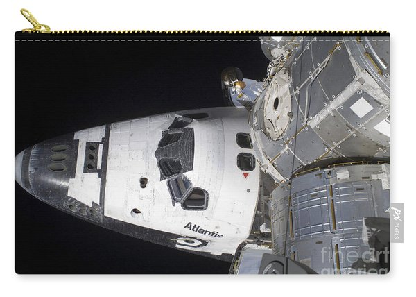 A High-angle View Of The Crew Cabin Carry-all Pouch