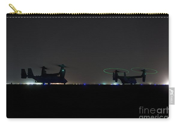 A Pair Of Special Forces Cv-22 Osprey Carry-all Pouch