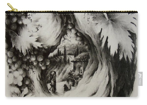 A Vintage Romance Carry-all Pouch