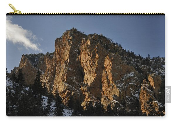 Carry-all Pouch featuring the photograph Above Red River I by Ron Cline