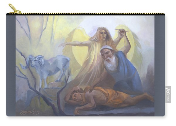 Abraham And Issac Test Of Abraham Carry-all Pouch