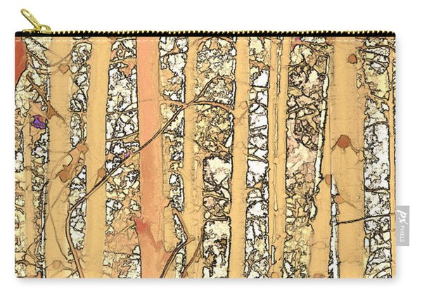 Abstract Aspens Carry-all Pouch