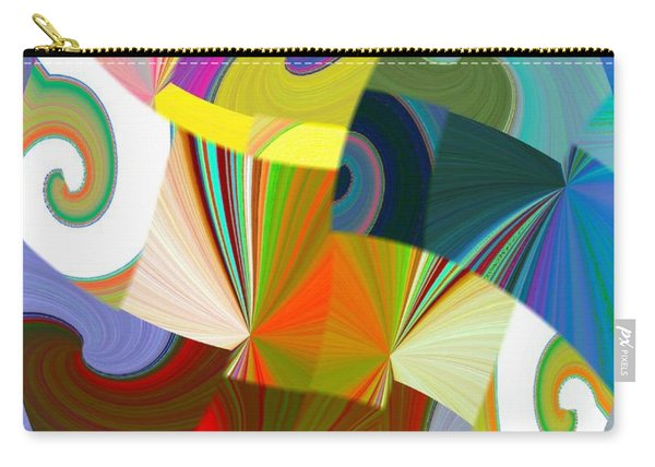 Abstract Fusion 24 Carry-all Pouch