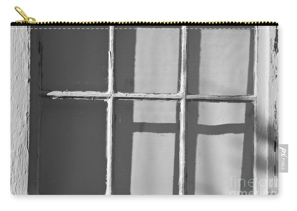 Abstract Window In Light And Shadow Carry-all Pouch