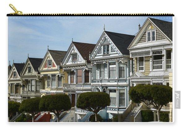 Alamo Square San Francisco California Carry-all Pouch