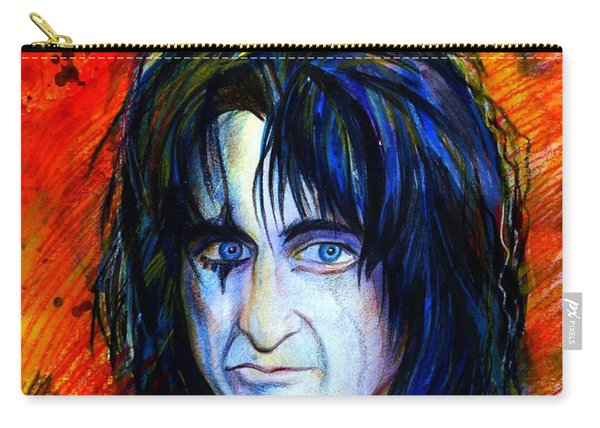 Alice Cooper  Two Faces Carry-all Pouch