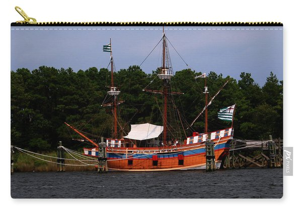 Anchored Ship Carry-all Pouch