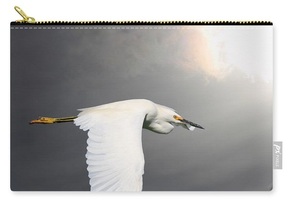 Angels Of The Night Sky Carry-all Pouch