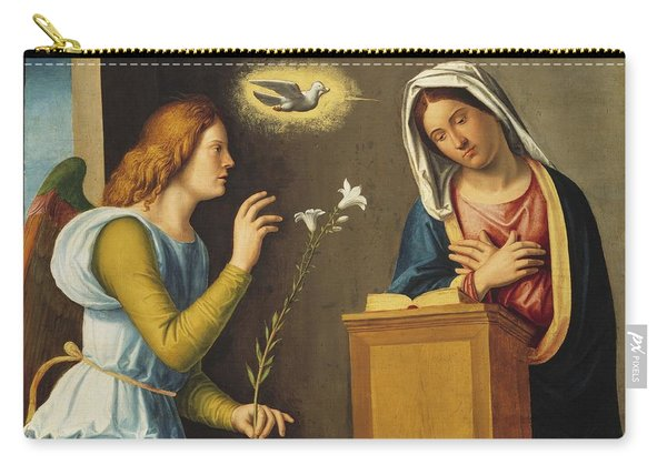Annunciation To The Virgin Carry-all Pouch