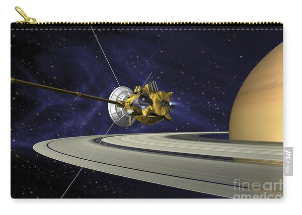 Artists Concept Of Cassini Carry-all Pouch