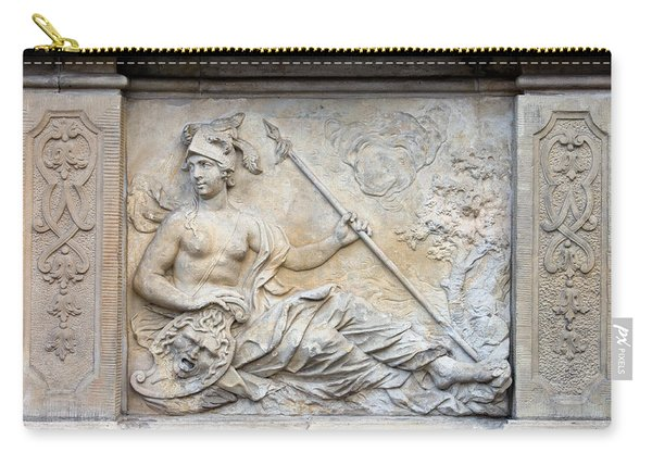 Athena Relief In Gdansk Carry-all Pouch