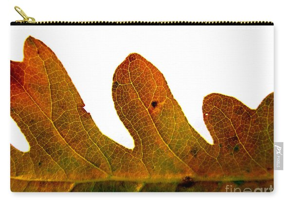 Autumn Leaf Macro Photograph Carry-all Pouch