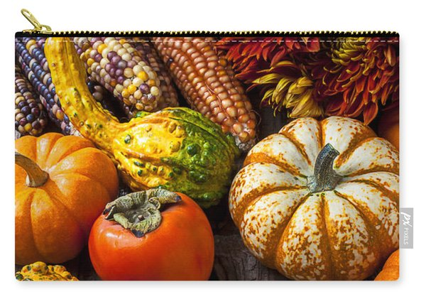 Autumn Still Life Colors Carry-all Pouch