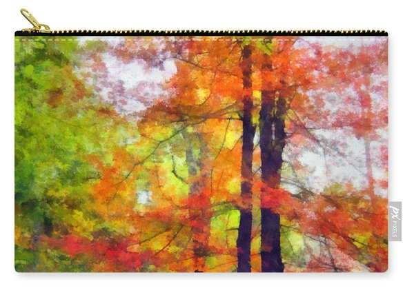 Autumnal Rainbow Carry-all Pouch
