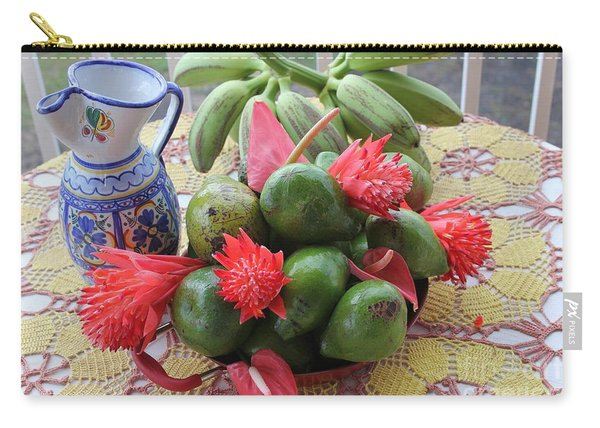 Avocado Time Carry-all Pouch