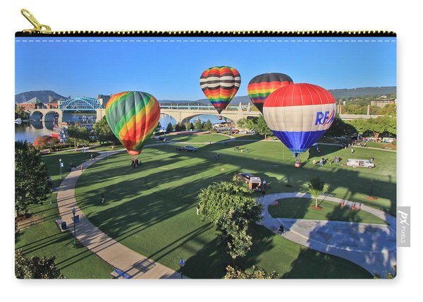 Balloons In Coolidge Park Carry-all Pouch