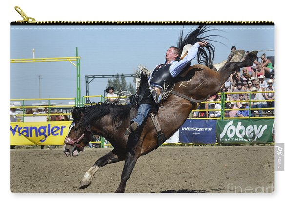 Rodeo Bareback Riding Carry-all Pouch