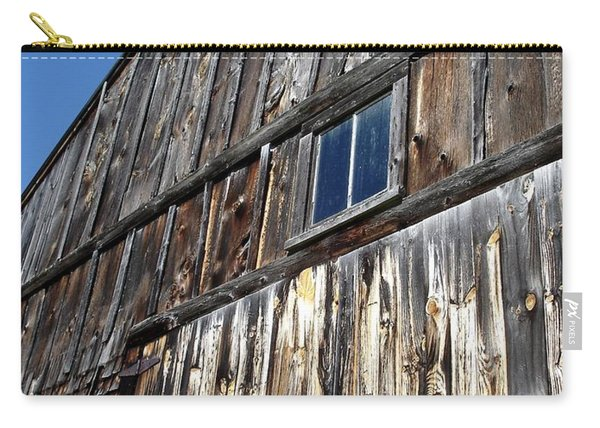 Barn End Looking Up Carry-all Pouch