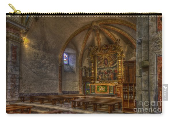 Baroque Church In Savoire France 3 Carry-all Pouch