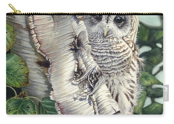 Barred Owl II Carry-all Pouch