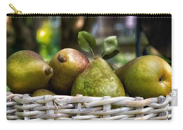 Basket Of Pears Carry-all Pouch