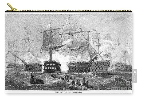 Battle Of Trafalgar, 1805 Carry-all Pouch