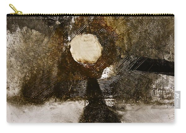 Carry-all Pouch featuring the painting Beachcomber  by Cliff Spohn