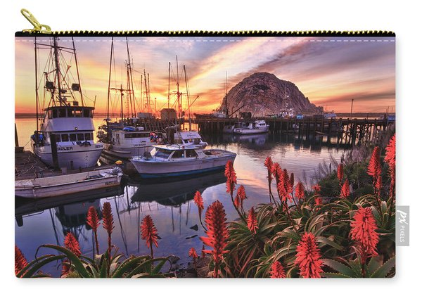 Beautiful Morro Bay Carry-all Pouch