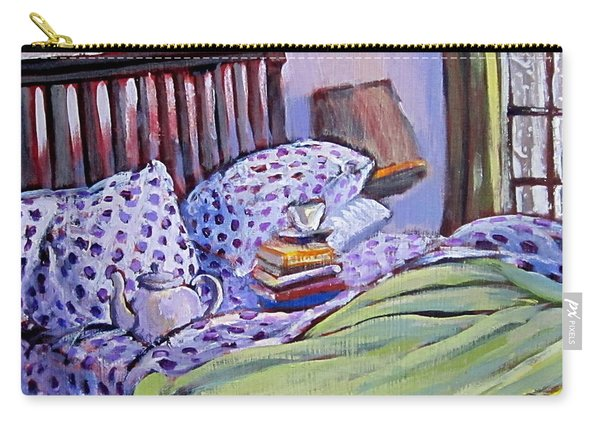 Bed And Books Carry-all Pouch