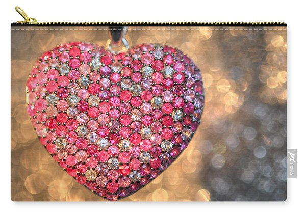 Bedazzle My Heart Carry-all Pouch