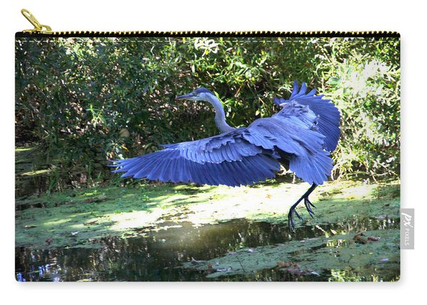 Big Blue In Flight Carry-all Pouch