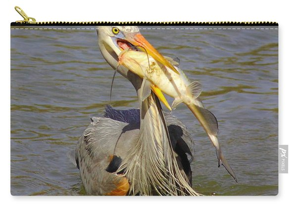Bigger Fish To Fry Carry-all Pouch