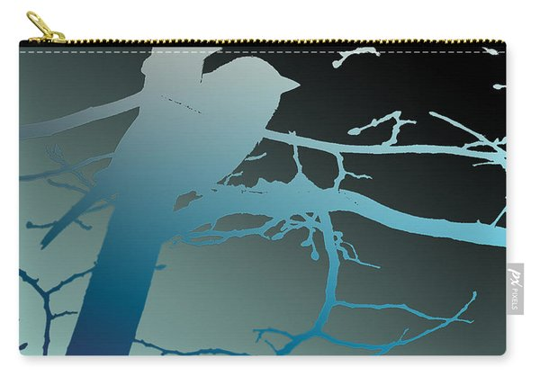 Bird At Twilight Carry-all Pouch