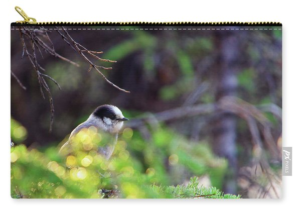 Black Capped Chicadee Carry-all Pouch