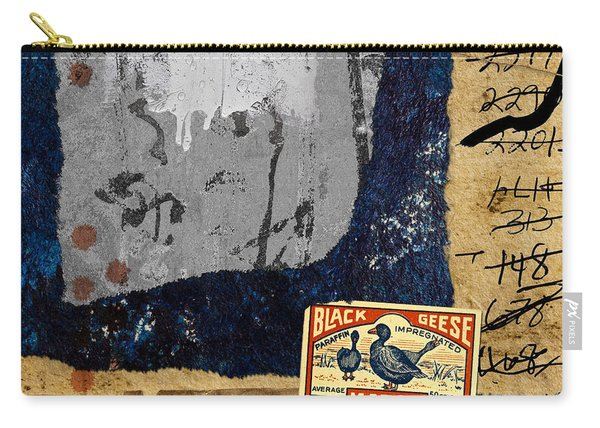 Black Geese Carry-all Pouch