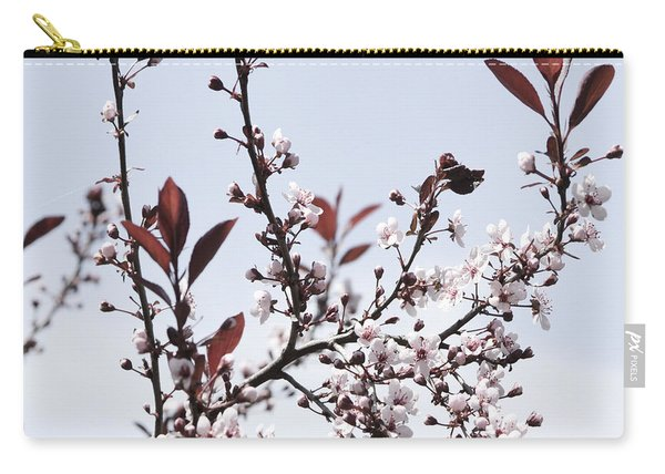 Blossoms In Time Carry-all Pouch